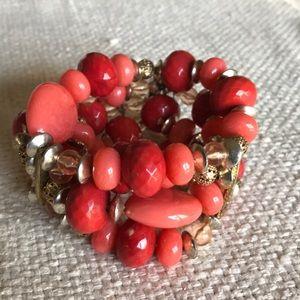 Jewelry - Coral Stretch Bracelet